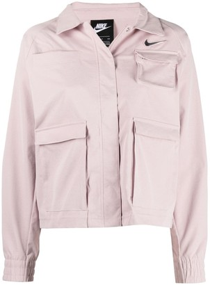 Nike Swoosh logo jacket