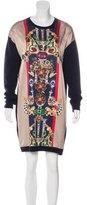 Mary Katrantzou Printed Sweater Dress