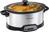 Hamilton Beach 7-qt. Programmable Oval Slow Cooker