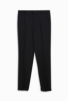 Kenzo Stretch Wool Cuffed Trousers