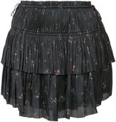 Ulla Johnson pleated mini skirt - women - Polyester - 2