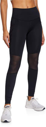 Under Armour x Misty Copeland Paneled Performance Leggings, Black