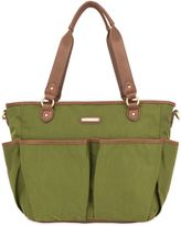 Timi & Leslie Tag-A-Long Tote Diaper Bag in in Serengeti Green