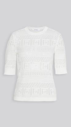 Frame Open Stitch 70s Sweater