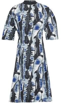 Marni Printed Cotton-blend Poplin Dress