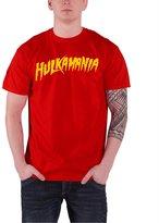 WWE Hulkamania logo Official Mens New T Shirt