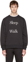 Saturdays NYC Black Bowery sleep Walk Sweatshirt