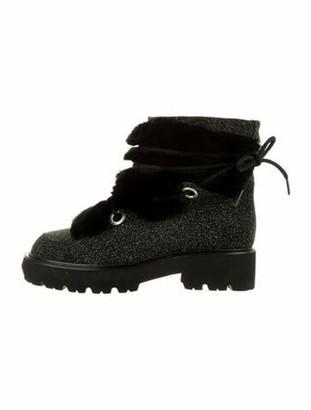 Montelliana Jolie Suede Boots Black