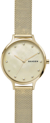 Skagen Anita Gold-Tone Analogue Watch