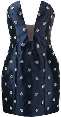 Giuseppe di Morabito Polka Dot Strapless Dress
