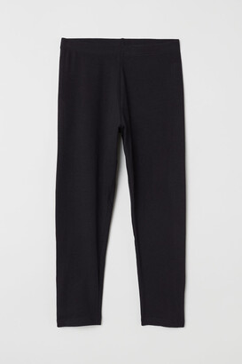 H&M 3/4-length Leggings - Black