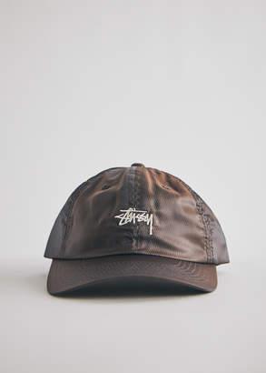 Stussy Diamond Ripstop Low Pro Cap in Black