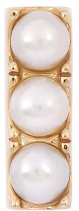 Otiumberg Pearl-embellished 9kt gold stud earring