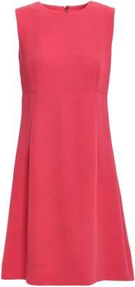 Dolce & Gabbana Flared Wool-crepe Mini Dress