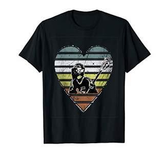 LaCrosse retro vintage heart t-shirt