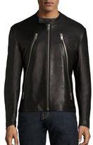 Maison Margiela Five Zip Leather Jacket