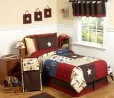 JoJo Designs Sweet 3-Piece Wild West Cowboy Western Children's Bedding Full / Queen Set