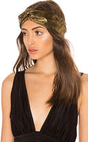Jennifer Behr Satin Turban Headwrap