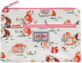Cath Kidston Pets Party Kids double zip pencil case