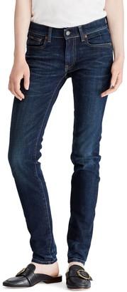 Ralph Lauren Polo Tompkins Skinny Jeans, Indigo Serret Wash