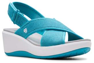 Clarks Cloudsteppers By Step Cali Cove Wedge Sandal