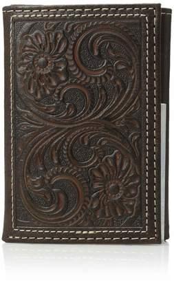 Nocona Belt Company Belt Co. Unisex-Adult's Floral Basic Trifold Wallet
