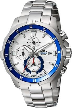 Casio Men's Edifice Quartz Watch with Stainless-Steel Strap