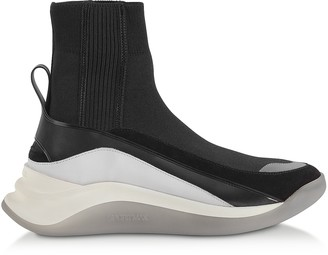 Sportmax Black Ovada Pull-On Sneakers