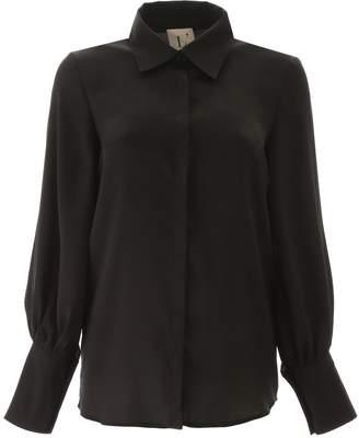 L'Autre Chose Button Cuffs Shirt Blouse