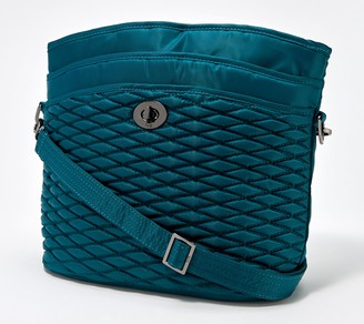 Lug Bubble Quilted Shoulder Bag - Adagio