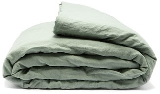 Once Milano - Double-sided Crushed-linen Quilt - Light Green