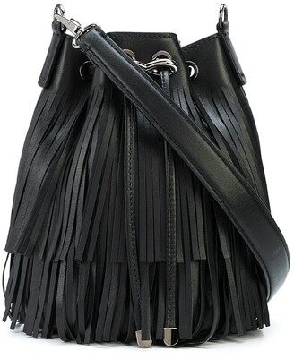 Tyler Ellis Grace Small fringed pouch