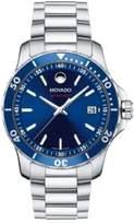 Movado 800 Series Stainless Steel & Aluminum Bracelet Watch