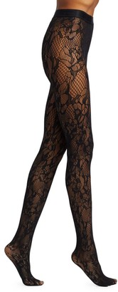 Wolford Morgan Lace Tights