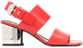 Proenza Schouler mirrored heel sandals