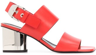 Proenza Schouler Mirrored 70mm Heel Sandals