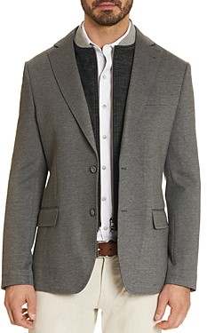 Robert Graham Downhill Vi Slim Fit Knit Blazer
