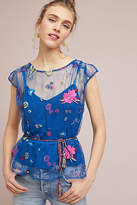 Plenty by Tracy Reese Burnell Embroidered Blouse