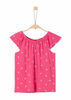 S'Oliver Girl's 73.906.32.5757 T-Shirt