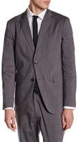 Theory Tobius Notch Lapel Two Button Blazer