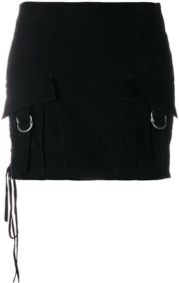 Manokhi Mini Pocket Skirt