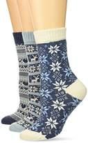 Muk Luks Women's Holiday Boot Socks