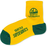 For Bare Feet Seattle SuperSonics Ankle TC 501 Med Socks