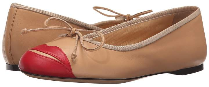 Charlotte Olympia Kiss Me Darcy Women's Slip on Shoes