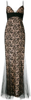 La Perla Miss Renegade long dress - women - Silk/Polyester/Spandex/Elastane - 42