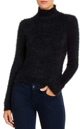 Vero Moda Fuzzy Mock-Neck Sweater