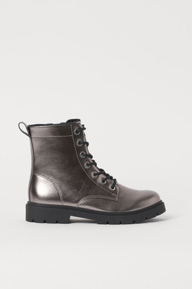 H&M Patent boots