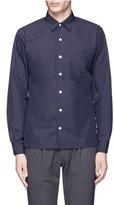 Nanamica Point collar taffeta wind shirt