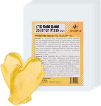 MARTINNI Martinni 24K Gold Collagen Set Of 4 Hand Masks