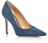 Sam Edelman Hazel Denim Pointed Toe Pumps